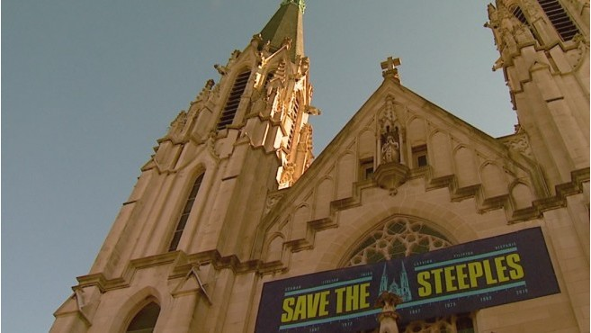 Historic St. Mary's Church wants to 'Save the Steeples'