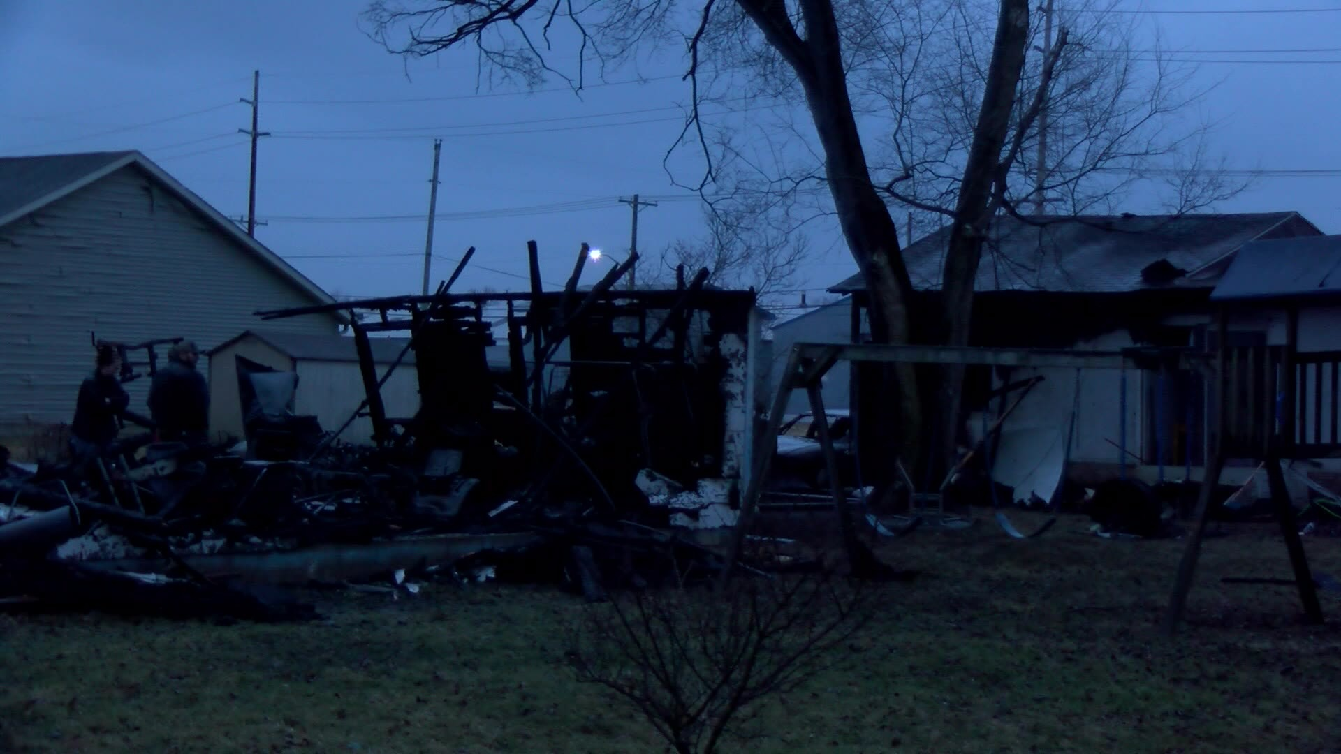 5 buildings, 6 cars destroyed in fire in Delphi, Indiana