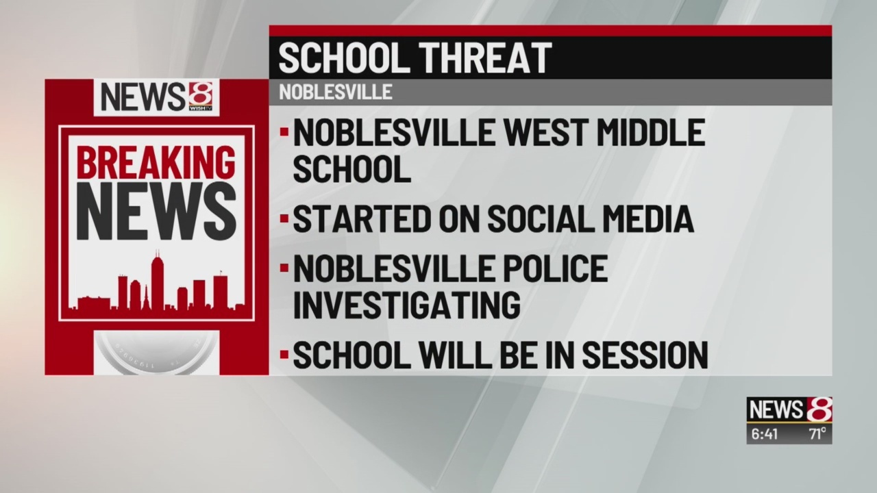 Police investigating anonymous threat against Noblesville West Middle School