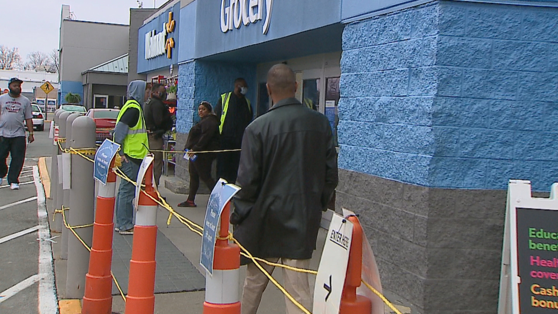 Walmart, Meijer, Target limit number of customers allowed inside stores at once - WISHTV.com