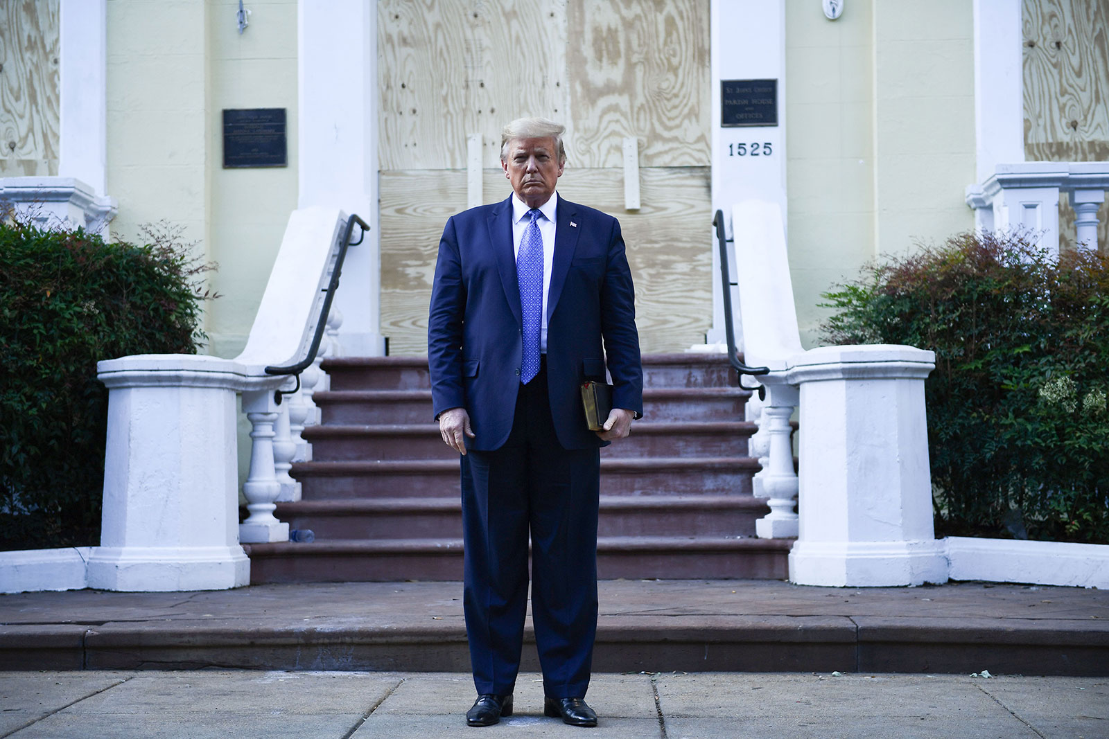 Federal probe: Protest not broken up due to Trump photo op - WISH-TV