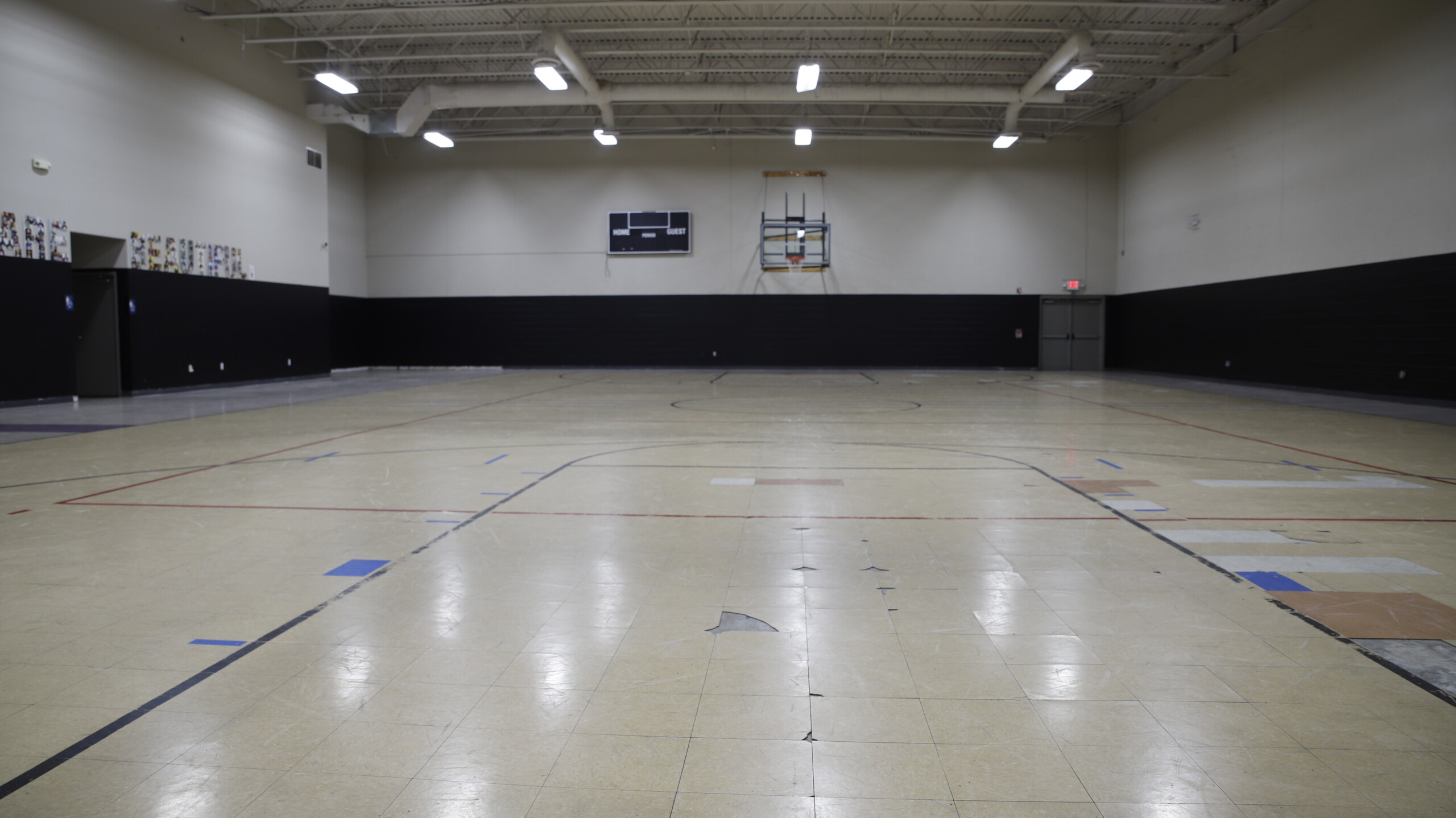 Indianapolis basketball gym gets facelift in time for March Madness
