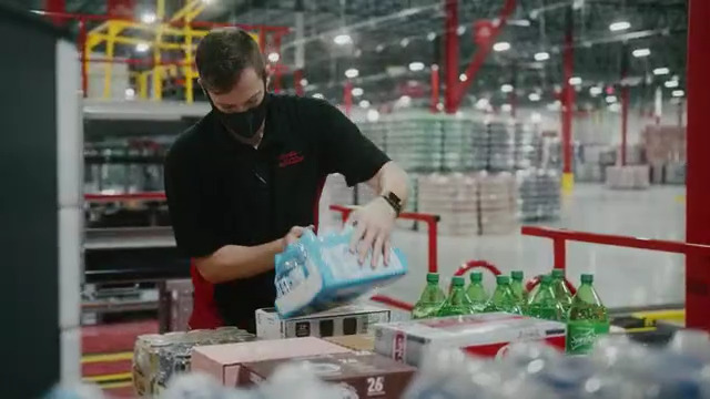 Look inside the new automated Coca-Cola distribution facility in Whitestown