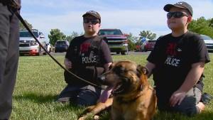Make-a-Wish fulfills twin boys' love of police