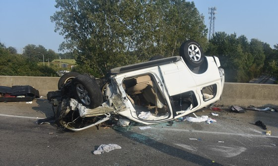 Children ejected from vehicle in rollover crash