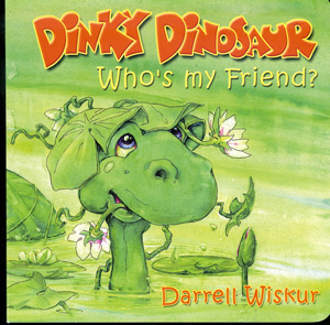 Dinky Dinosaur Who's My Friend book cover