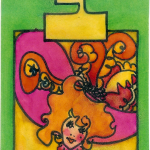 """""""Pretty Girls,"""" a Pazazz game card for Silver Dollar City"""