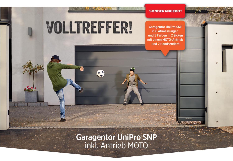 Garagentor UniPro SNP inkl Antrieb MOTO SONDERANGEBOT