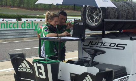Nicci Daly - in the pits