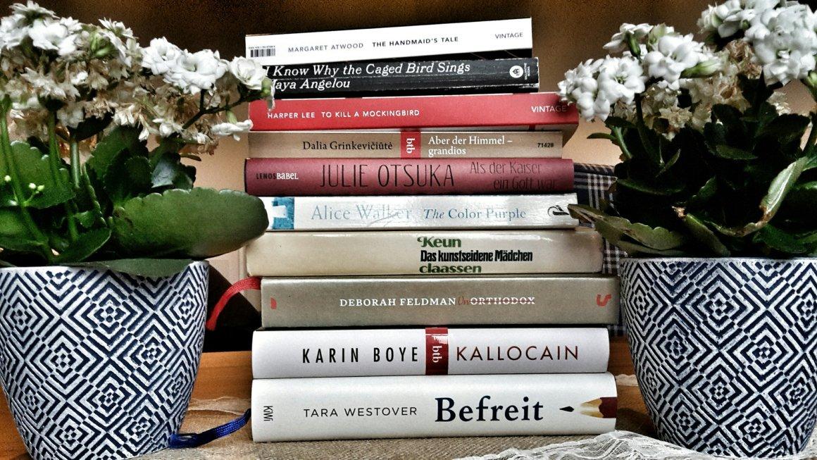 Autorinnenschuber: Zehn tolle Bücher von Frauen