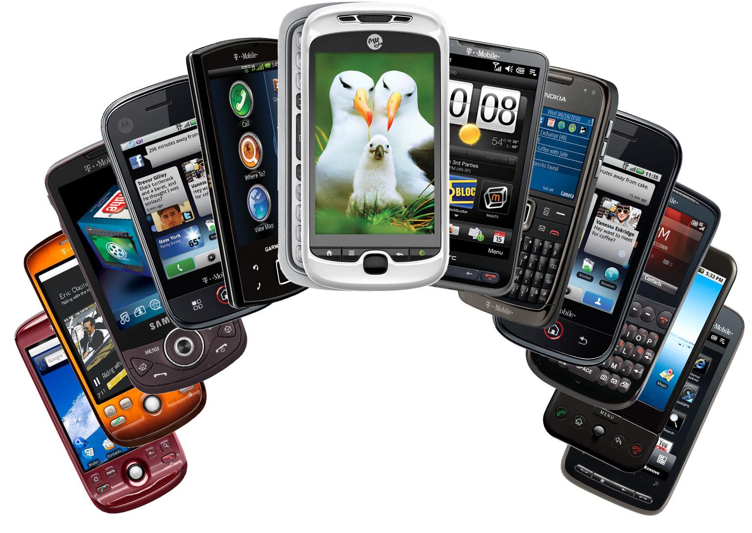 divers smartphones