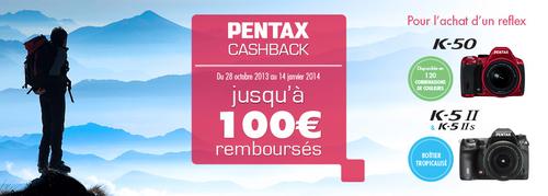 cashback pentax