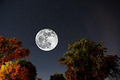 photographier la lune