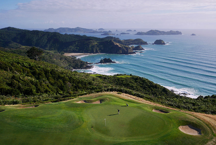Le Golf de Kauri Cliffs (Nouvelle-Zélande) Photo : Amos Chapple