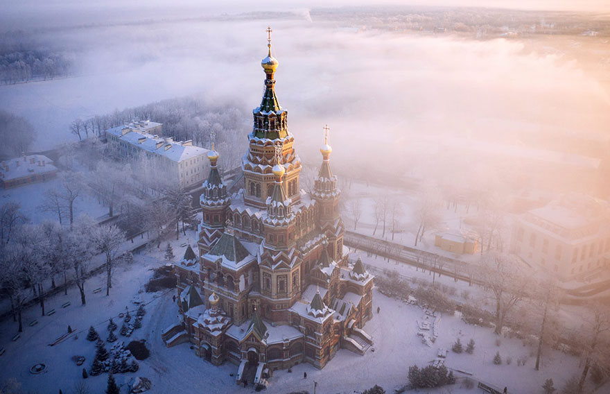 Cathédrale Saint Pierre-et-Paul, Peterhof (Russie) Photo : Amos Chapple