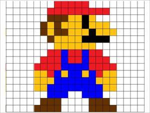 pixel agrandissement