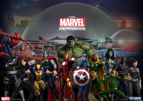 The Marvel Experience Wit and Wander