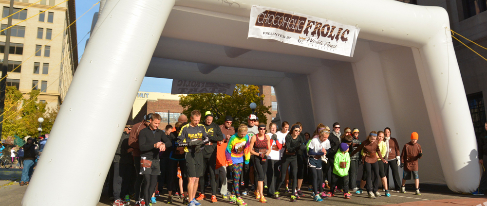 The Chocolate Frolic - Top 5 Fall 5Ks in North Texas
