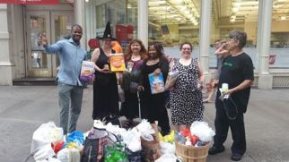 City Harvest Collected For Bowery Mission