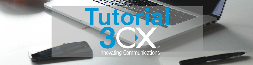 Tutorial 3CX – 3CX Webmeeting – How to
