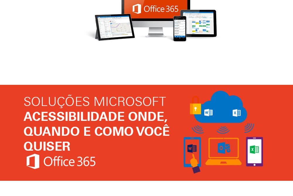 O Office 365 estimula a trabalho colaborativo entre equipes
