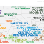 The Regions Of Pennsylvania Defined By Pennsylvanians Witf