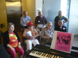 All Present Performs at an Alzheimer's Cafe