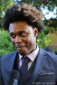 Echo Kellum was on hand to present an awards at the 42nd Annual Saturn Awards