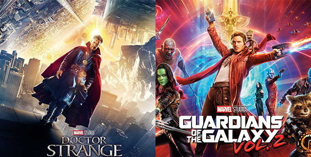 We march onwards towards Marvel Cinematic Universe completion, this time discussing our Doctor Strange and Guardians of the Galaxy Vol. 2 feelings.