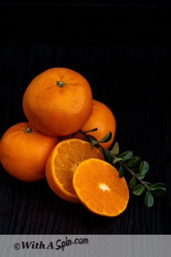 Mandarin Orange | With A Spin