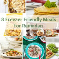 8 Freezer Friendly Meals for Ramadan