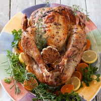 Moist, Flavorful Roasted Whole Turkey