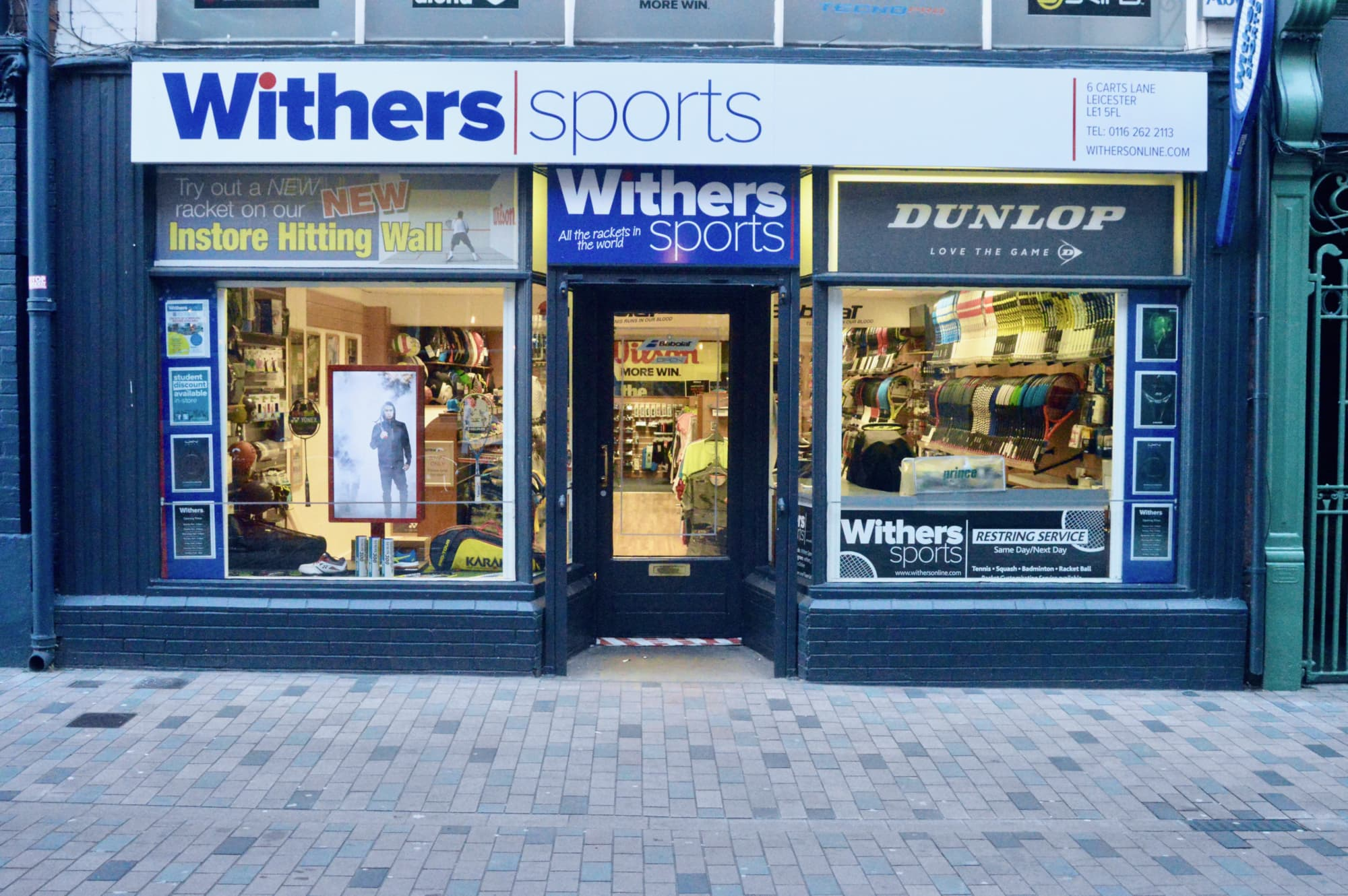 Withers Sports Cart Lane shop front