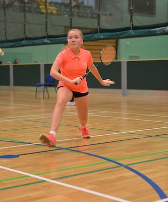 Sophie Watson in action