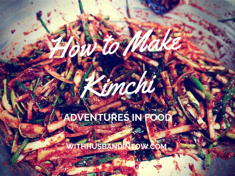 Learning How to Make Kimchi in Seoul – Korea's National Dish