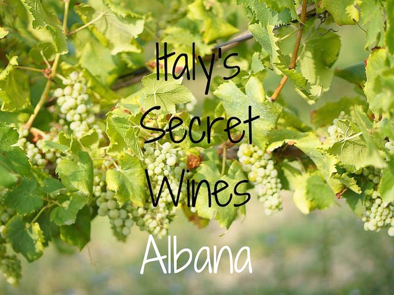 Italy's Secret Wines - Albana