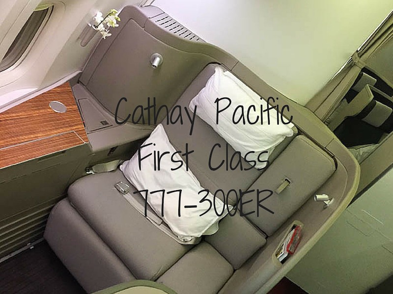 Cathay Pacific First Class Review – 777-300ER
