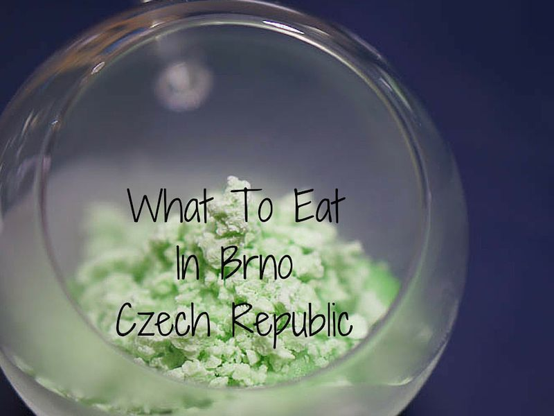 Where and What to Eat in Brno