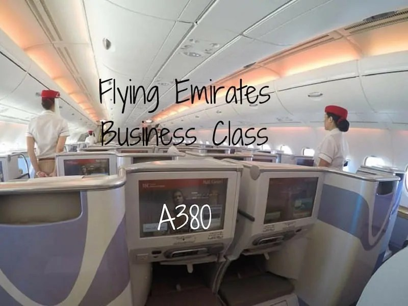 Flying Emirates Business Class On The A380