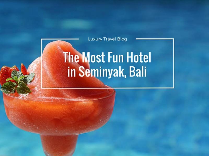 The Most Fun Hotel In Seminyak – Courtyard Seminyak
