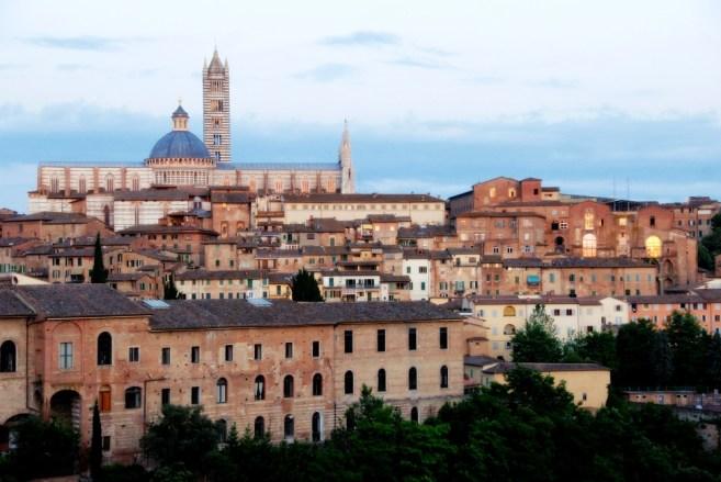 Siena seen from Fortezza Medicea