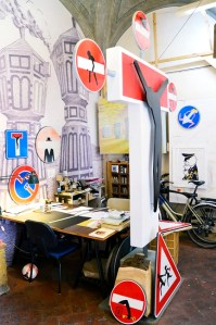 CLET's atelier in San Niccol