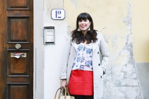 Georgette Jupe - Girl in Florence
