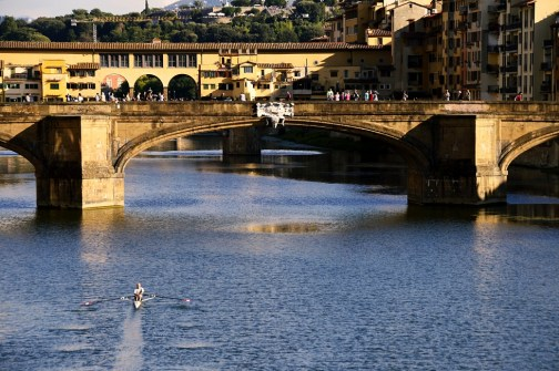Arno River - canoeing