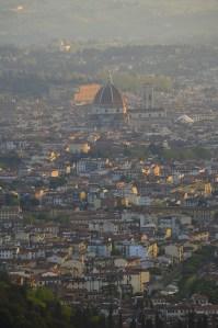 sunset Florence - Fiesole