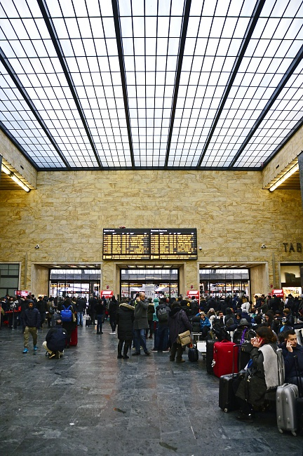 Santa Marian Novella SMN Florence train central station