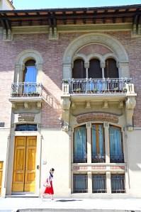 Il Liberty fiorentino - the Florentine art nouveau - VILLINO GALEOTTI FLORI Via XX Settembre, 72