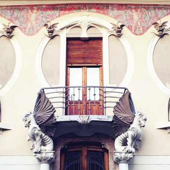 Il Liberty fiorentino - the Florentine art nouveau - VILLINO GIULIO LAMPREDI - Via Giano della Bella 9