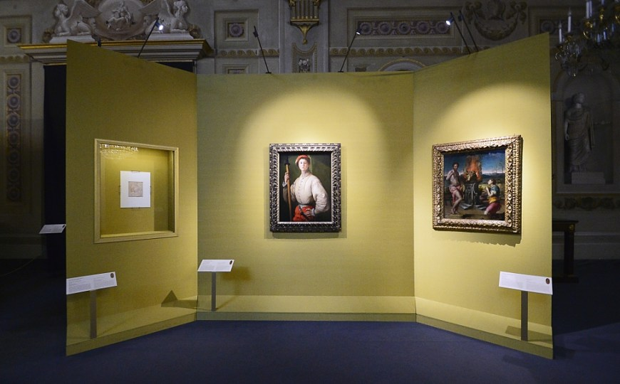 Pontormo at Palazzo Pitti: from drawing to painting