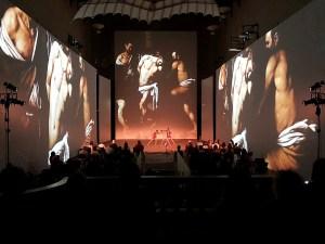 """Caravaggio. Amor Vincit Omnia"" (Lyric Dance Company - Santo Stefano al Ponte - Florence)"